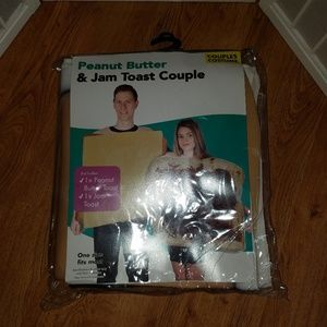 Other - Peanut Butter & Jam Duo Couples Costume One Size